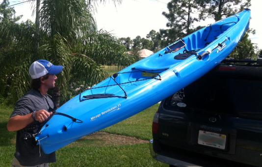 Kayak On Roof >> Florida Sportsman Blog - So How DO You Load That Kayak?