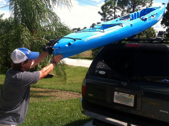 Florida Sportsman Blog So How Do You Load That Kayak