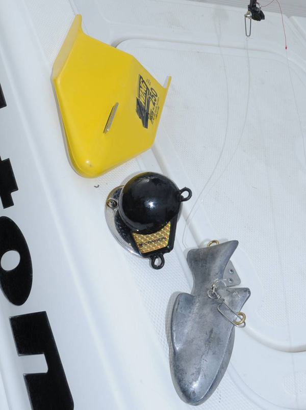 Downriggers fit for a king florida sportsman for Balls deep fishing weights