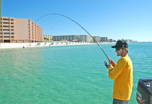 Surf fly fishing in destin florida florida sportsman for Fishing destin fl