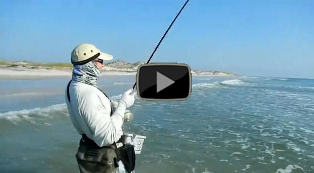 Talbot island surf fly fishing florida sportsman for Florida surf fishing