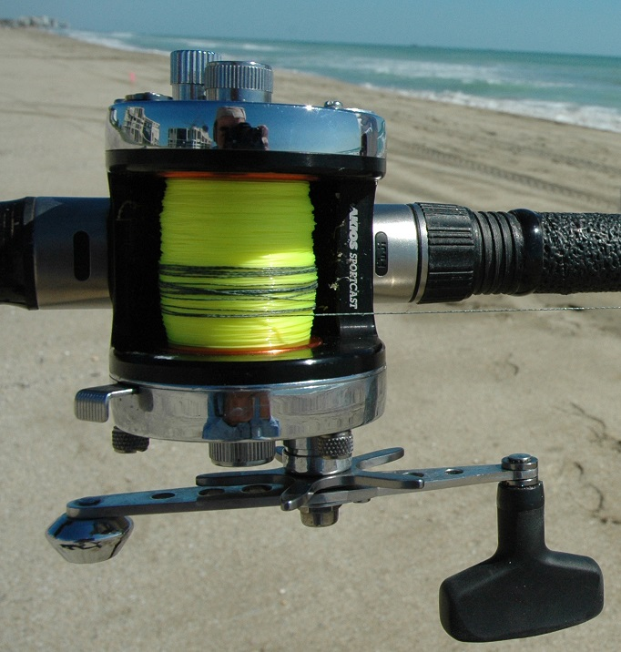 Surf fishing gear the pros use florida sportsman for Surf fishing rod and reel