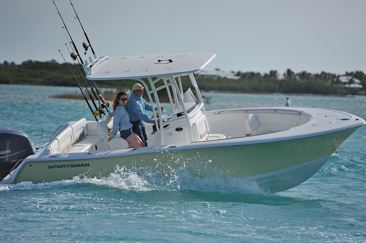 Florida sportsman best boat 23 39 center consoles for Best center console fishing boats