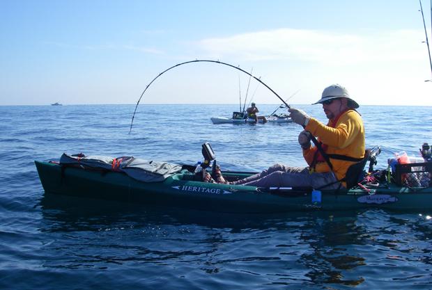 Vertical Jigging from a Kayak