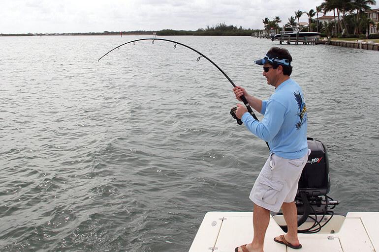 inshore dock fishing