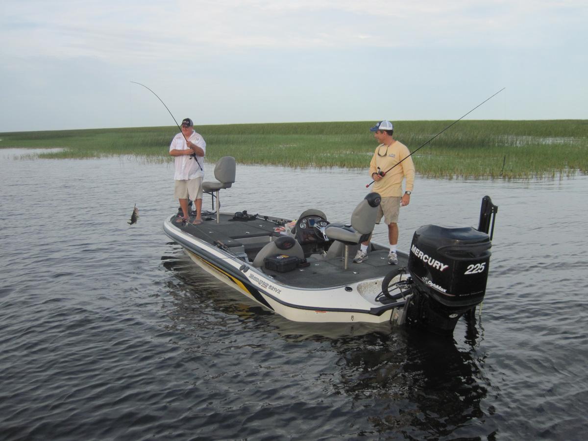 Fishing lake okeechobee florida sportsman for Lake okeechobee bass fishing