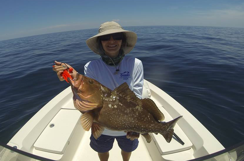 Changes to red grouper bag limit in gulf waters florida for Grouper fishing florida