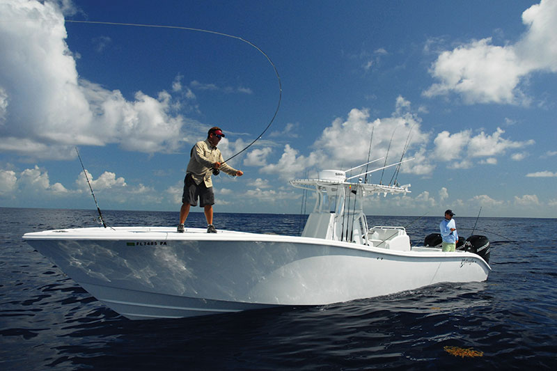 Saltwater experience weekend at hawks cay resort florida for Hawks cay fishing