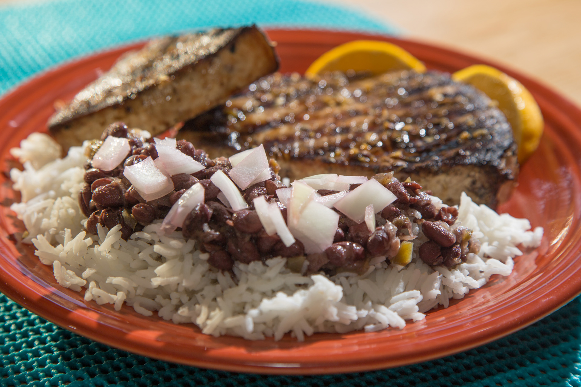 The perfect side dish florida sportsman for Rice side dishes for fish
