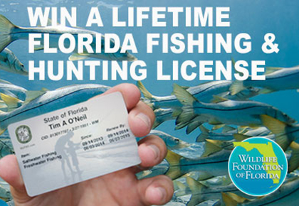 Win a lifetime florida fishing license florida sportsman for Fl fishing license