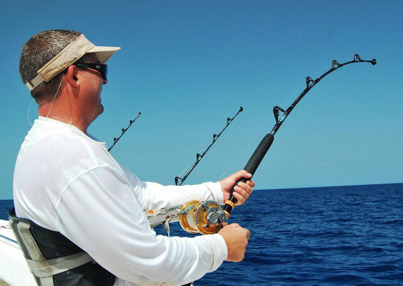 Wind on swivels florida sportsman for Fishing rod roller guides