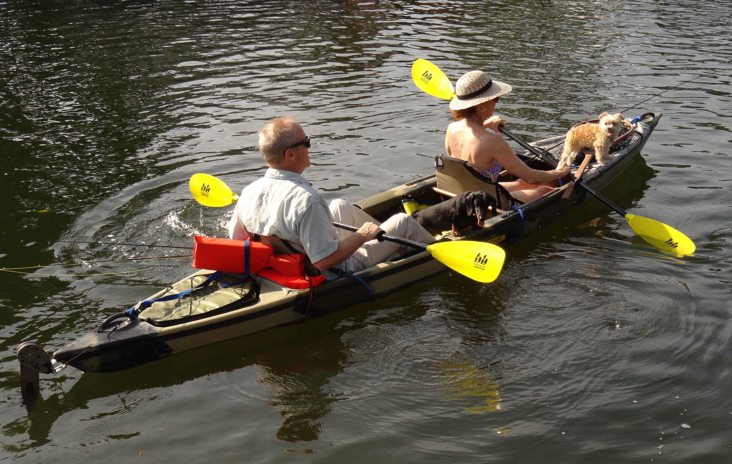 Tandem sit in kayaks florida sportsman for Best tandem fishing kayak