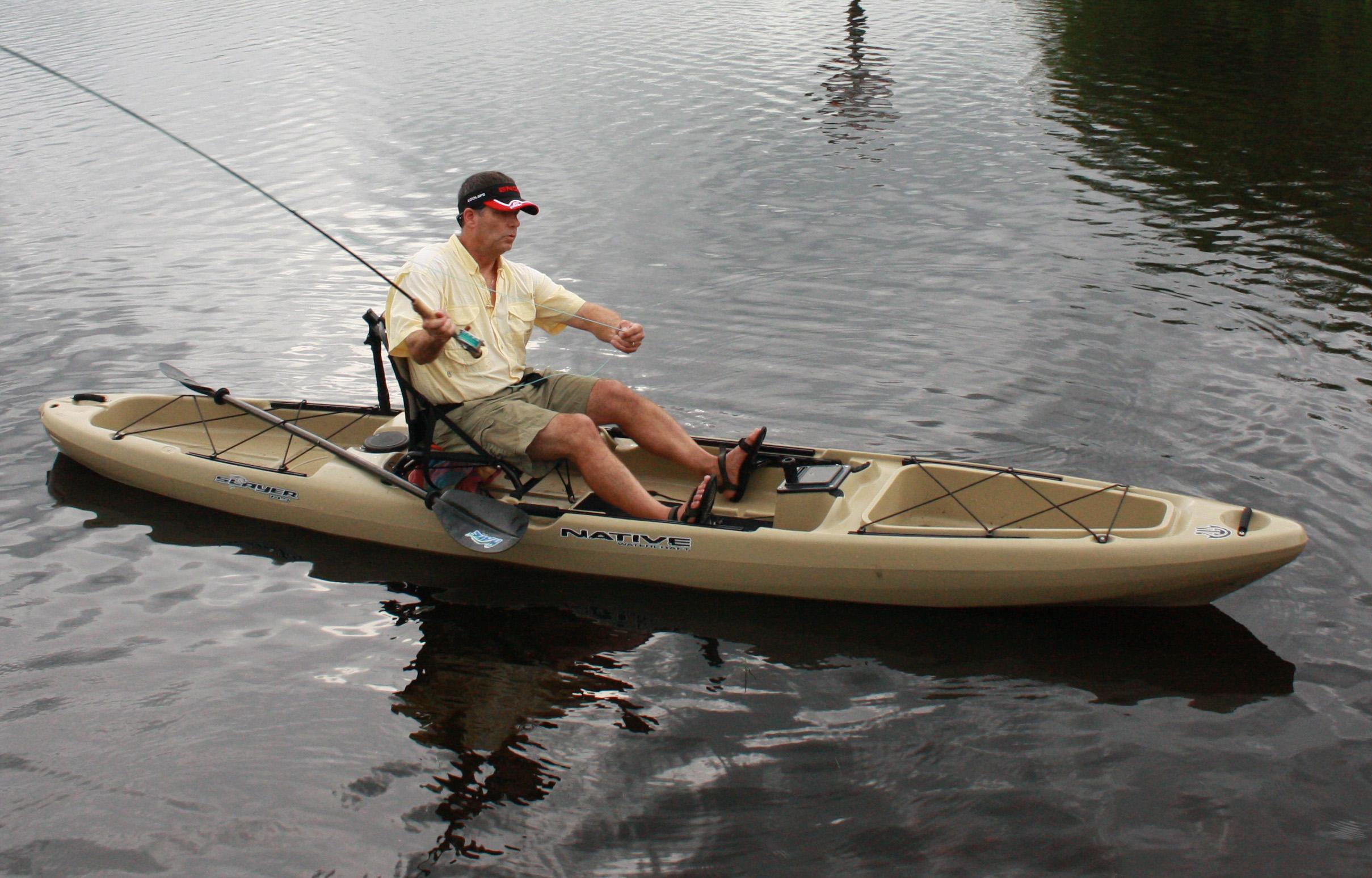 Kayak seats florida sportsman for Kayak fishing seats
