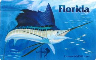 Get outdoorsy with the new guy harvey hard card license for Out of state fishing license florida