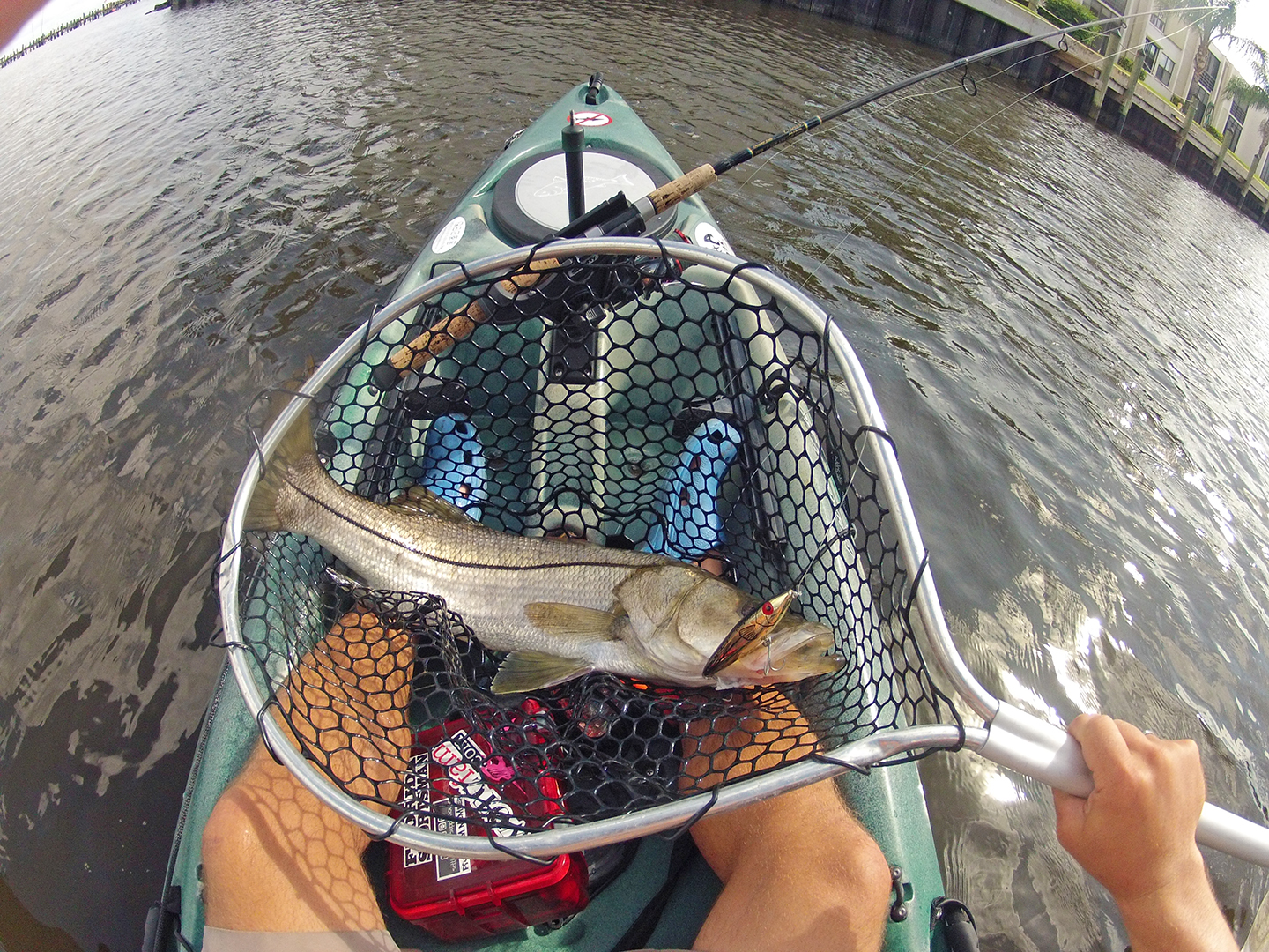 3 essential quick grabs when kayak fishing florida sportsman for Sjfc fish r net