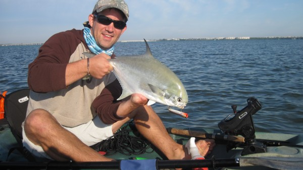 5 kayak tips for picking up pompano florida sportsman for Pompano fish good to eat