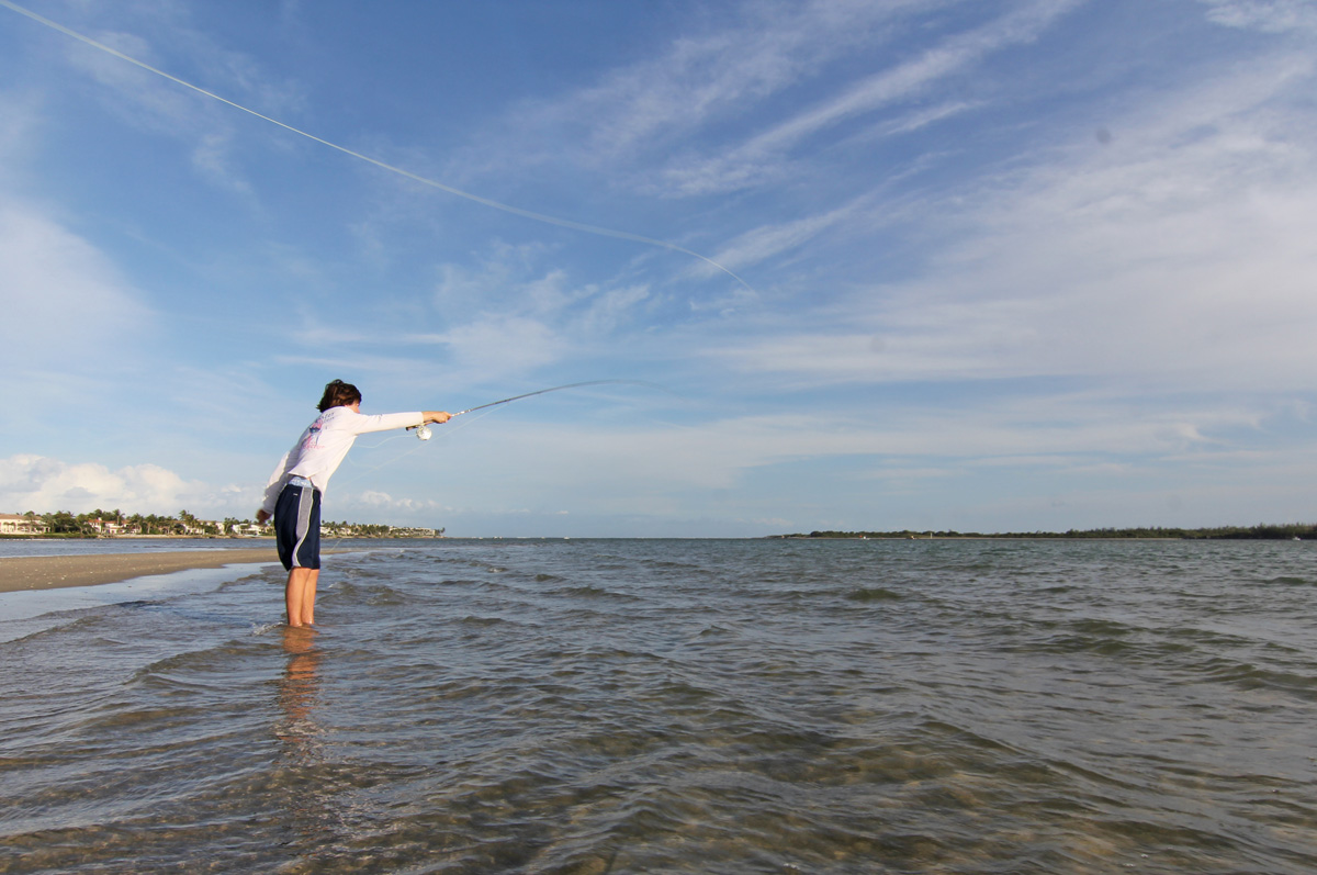 Fly fishing for pompano florida sportsman for Surf fishing virginia beach