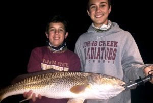 Night Redfishing