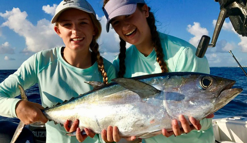 Tunase florida sportsman for Florida sportsman fishing report
