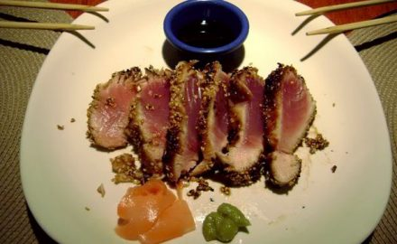 blackfin tuna grilled