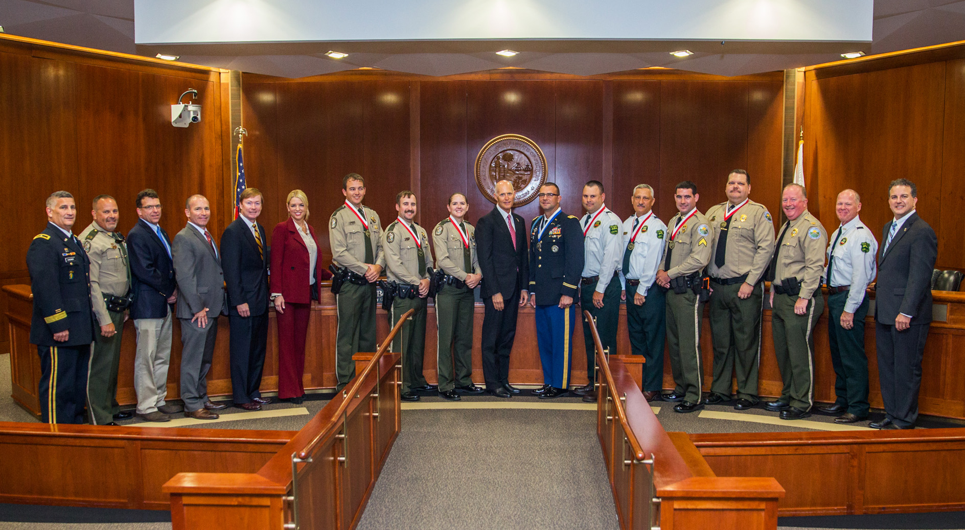 During Todayu0027s Meeting Of The Florida Cabinet, Gov. Rick Scott Recognized  Three Florida Fish And Wildlife Conservation Commission (FWC) Officers With  The ...