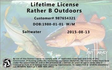 Lifetime Back Florida Sportsman