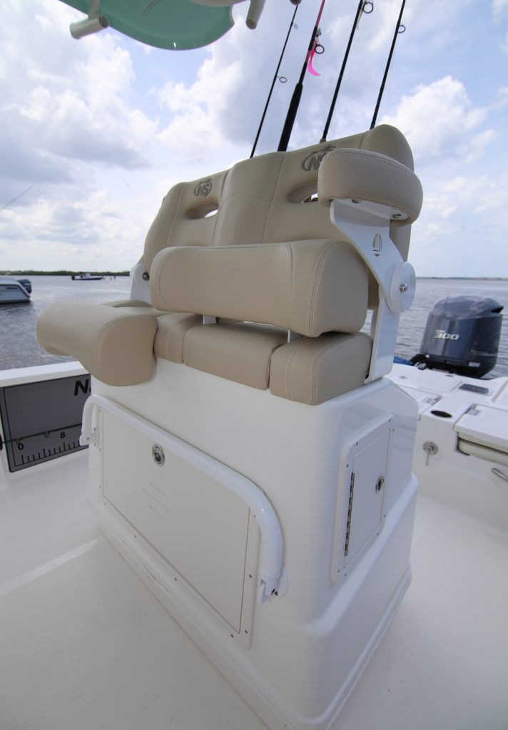 Nautic Star 265 XTS Helm Seat Review