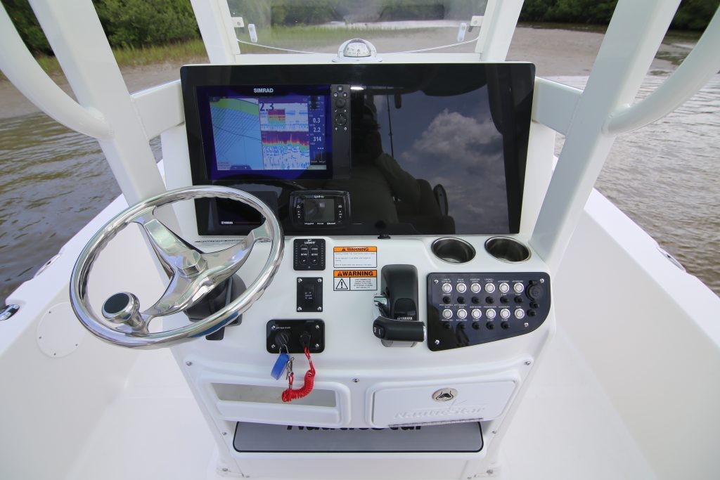 Nautic Star 265 XTS Dash Review