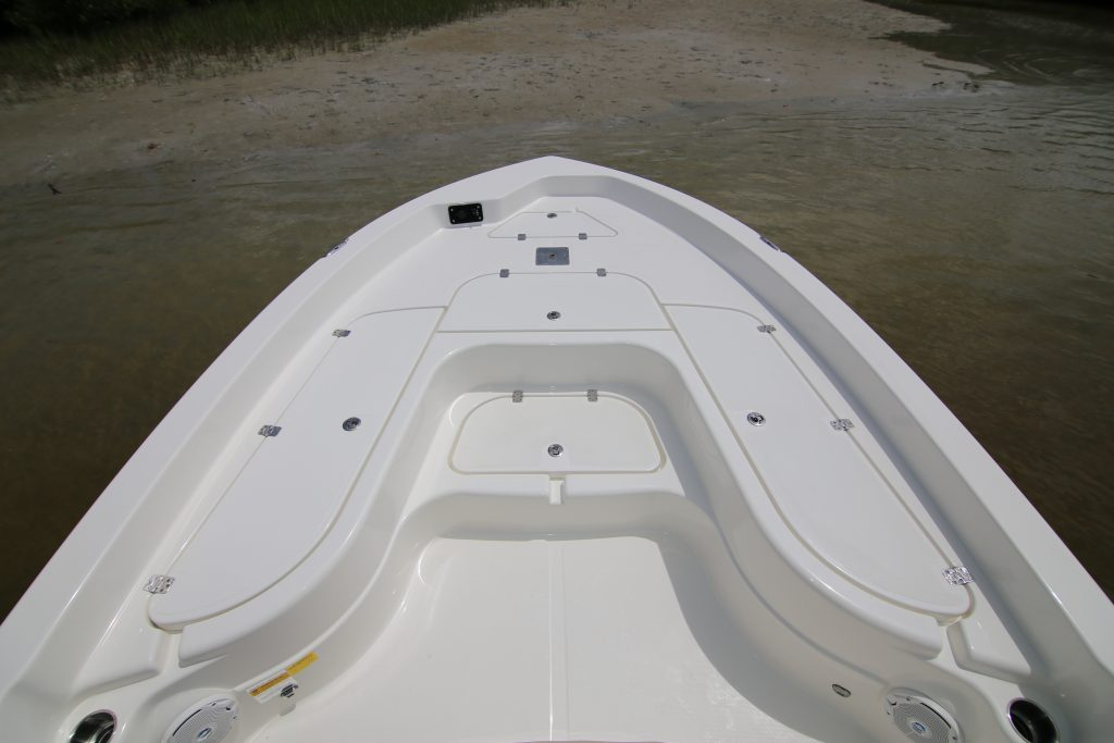 Nautic Star 265 XTS Front Deck Review