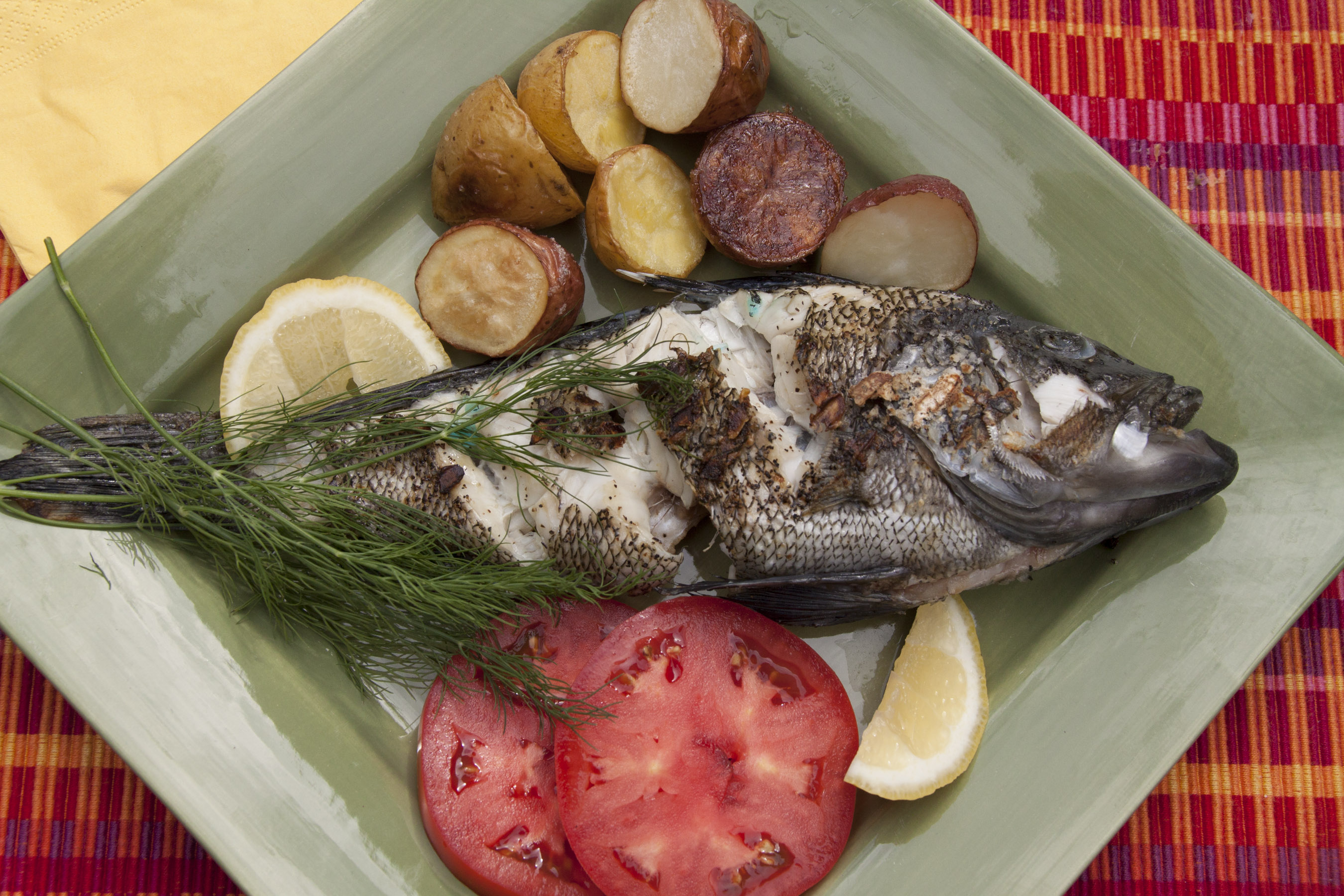 Sea bass on the grill florida sportsman for Is fish considered meat