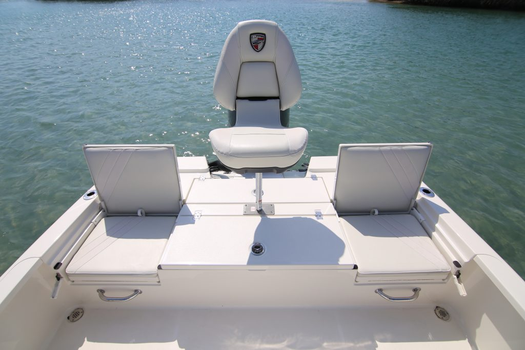 Triton 240 LTS Seating Review