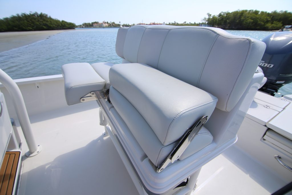 Triton 240 LTS Helm Seating Review