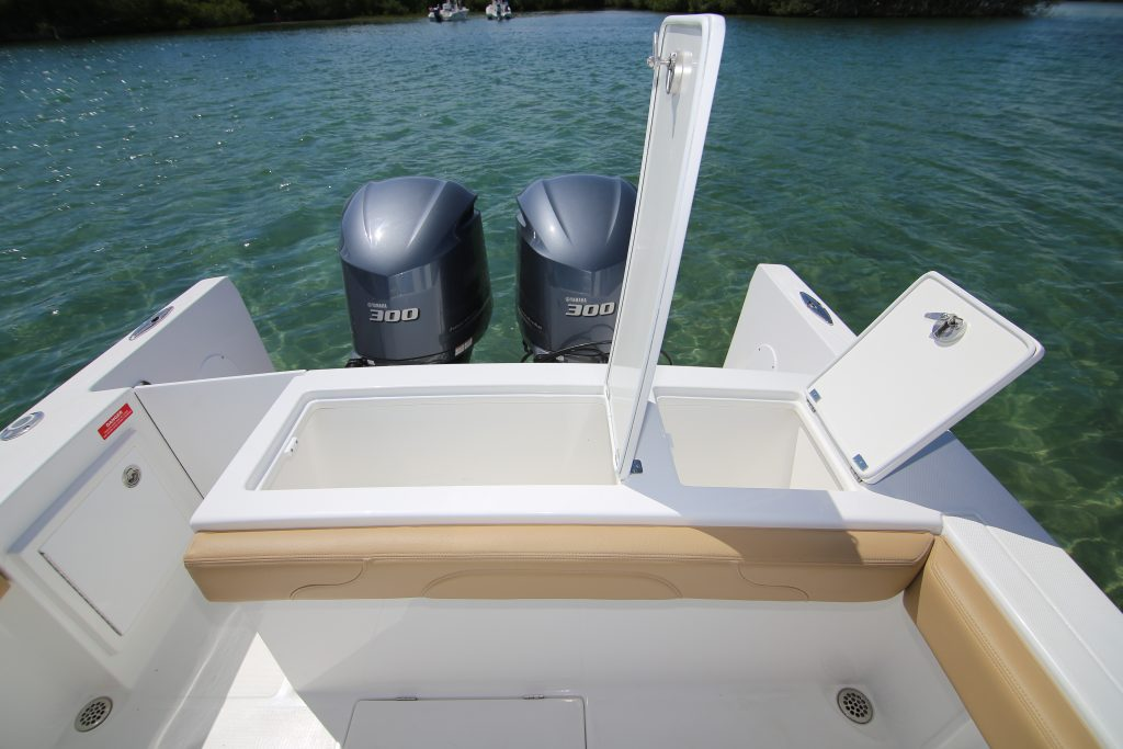 Buddy Davis 28 CC Transom Review