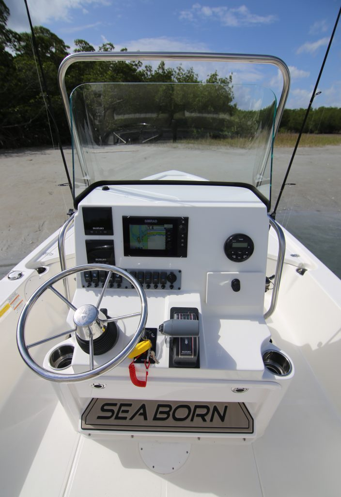 Sea Born FX 21 Bay Helm Review