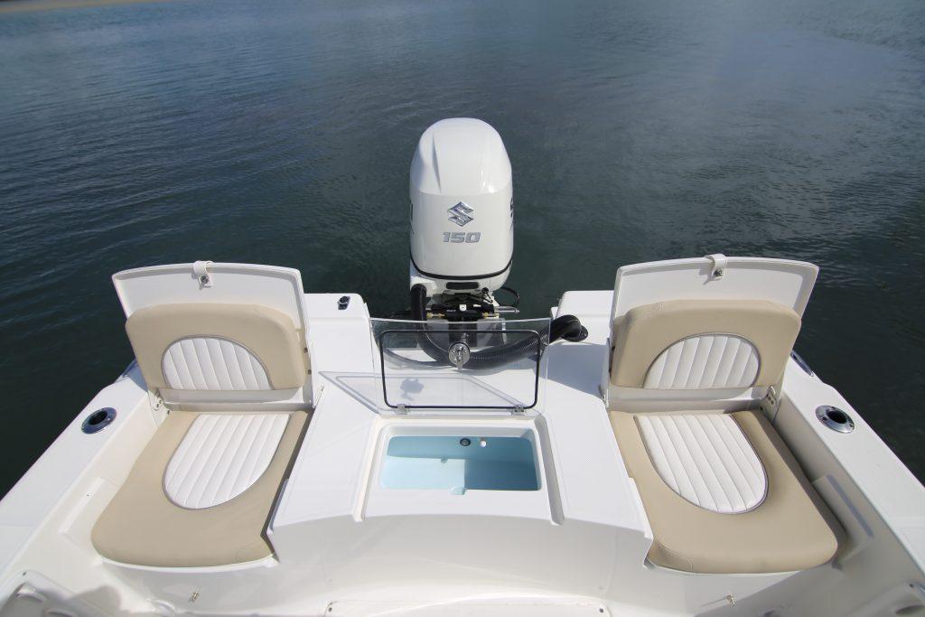 Sea Born FX 21 Bay Rear Deck Review