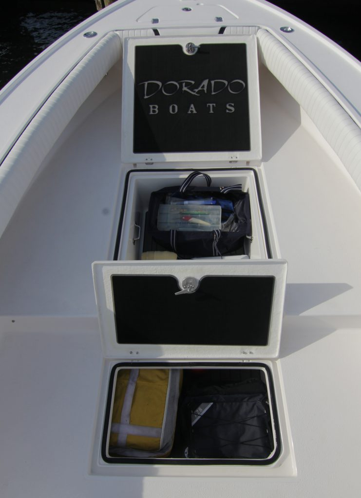 Dorado 25 Bow Storage Review