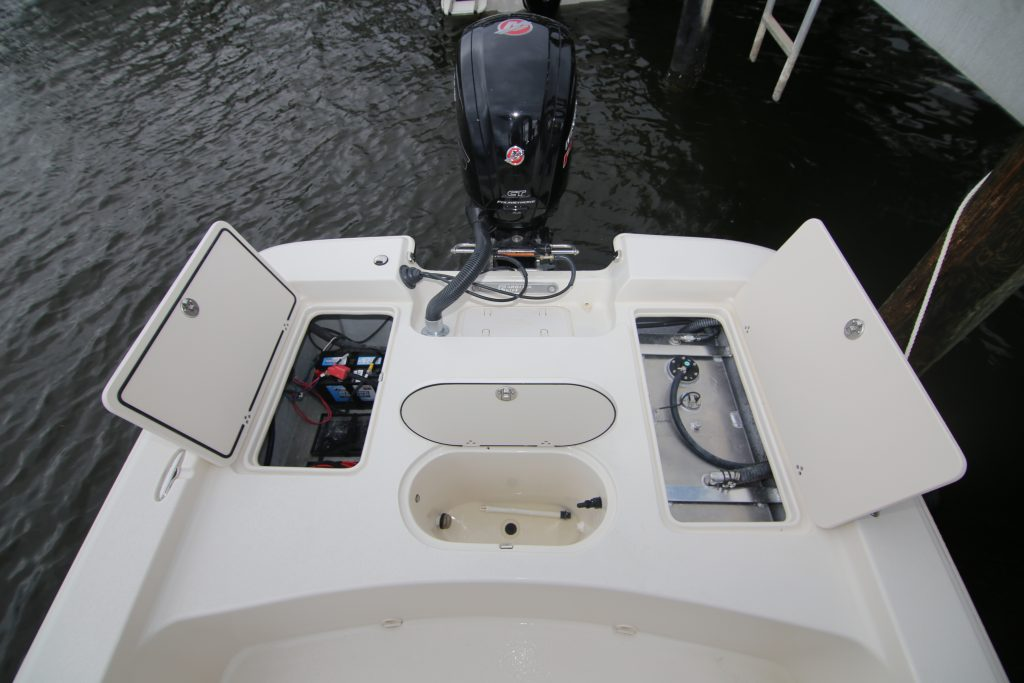 Carolina Skiff 19 SWS Rear Storage Review