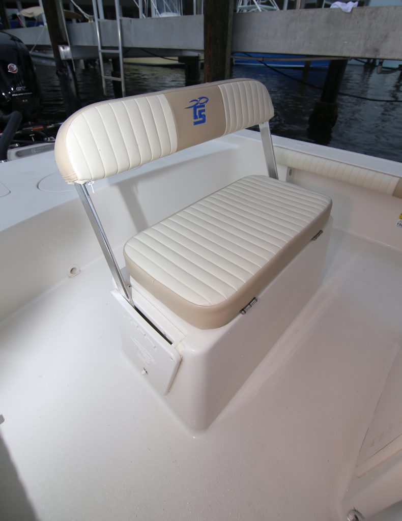 Carolina Skiff 19 SWS Helm Seat Review