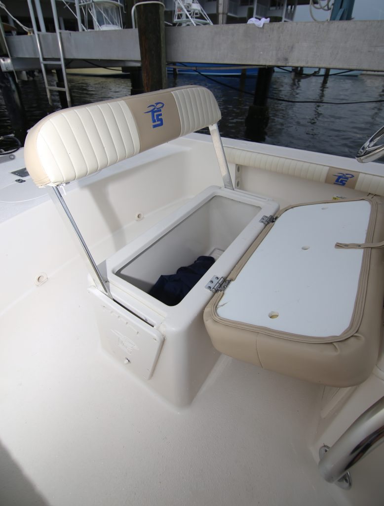 Carolina Skiff Helm Seat Storage Review