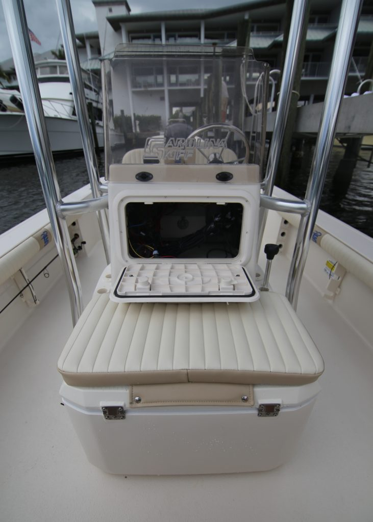 Carolina Skiff 19 SWS Console Access Review