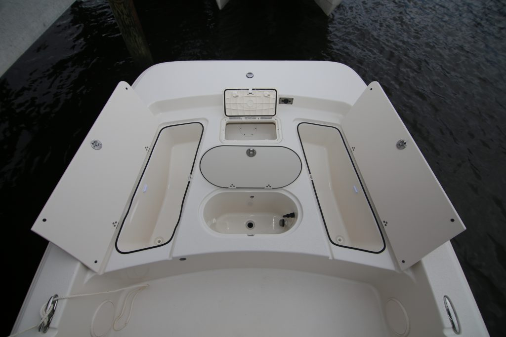 Carolina Skiff 19 SWS Bow Storage Review