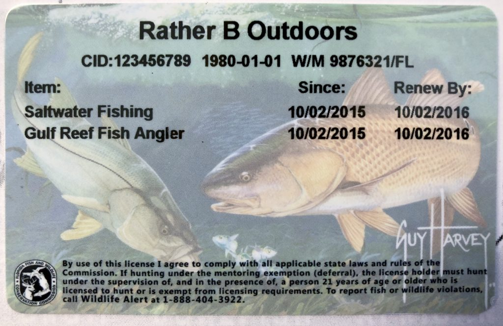Gulf red snapper season reminders florida sportsman for How much is a saltwater fishing license in florida
