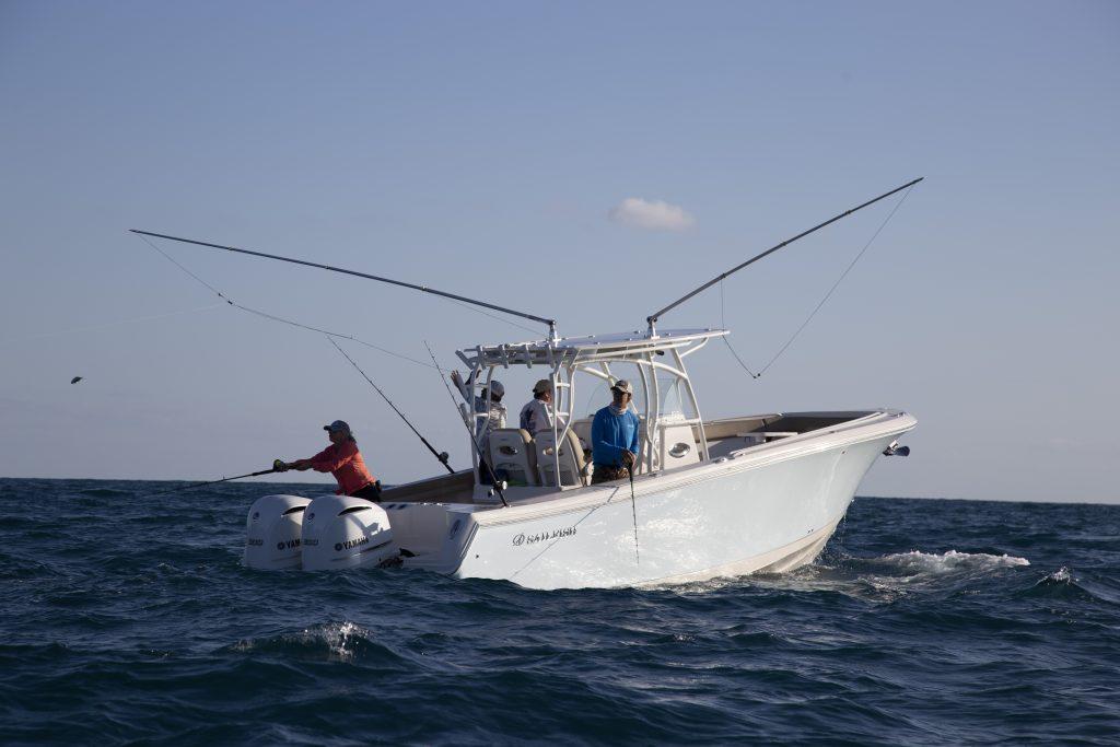 Sailfish 320CC Fishing Review