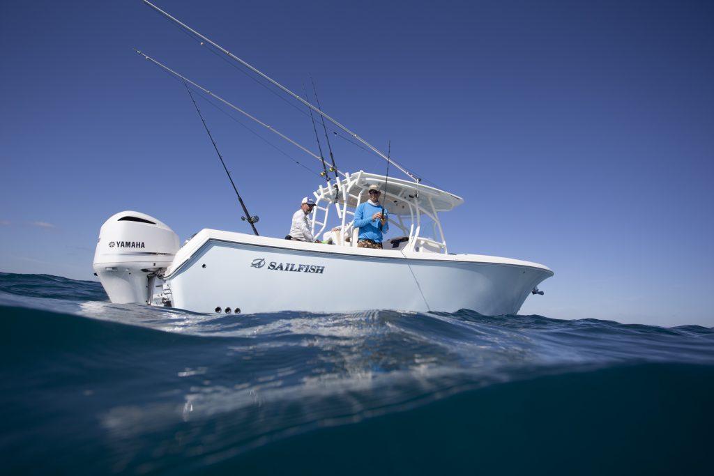 Sailfish 320CC Freeboard Review