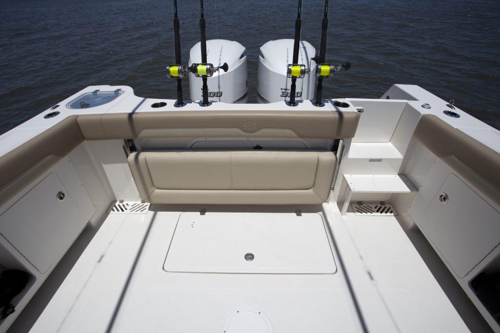Sailfish 320CC Cockpit review