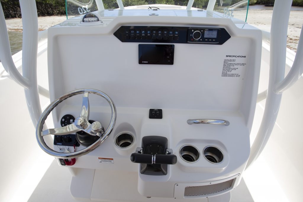 Sailfish 320CC Helm Review