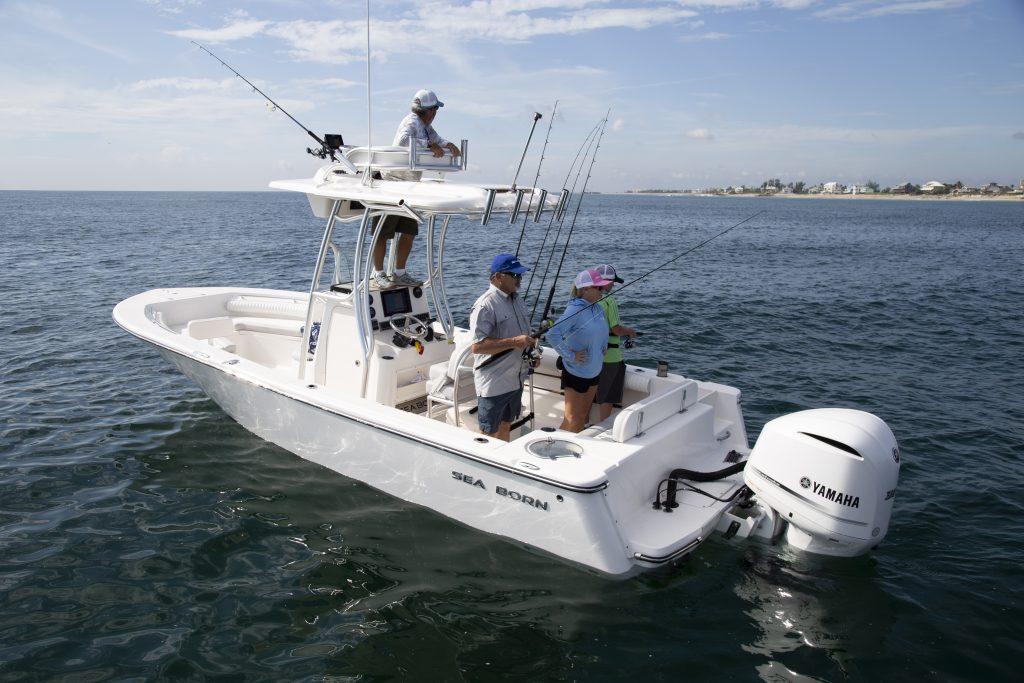 Sea Born LX24 XE Fishing Review
