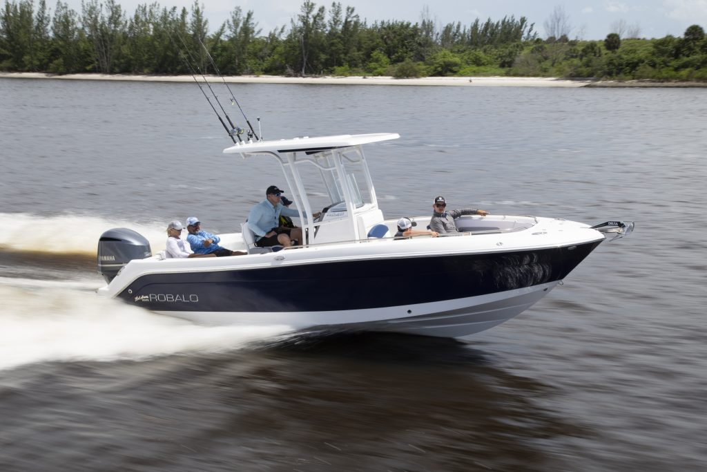 Robalo 242 Explorer Running review