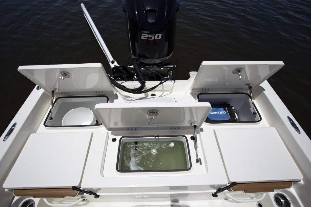 Skeeter 230SX Livewell aft Review
