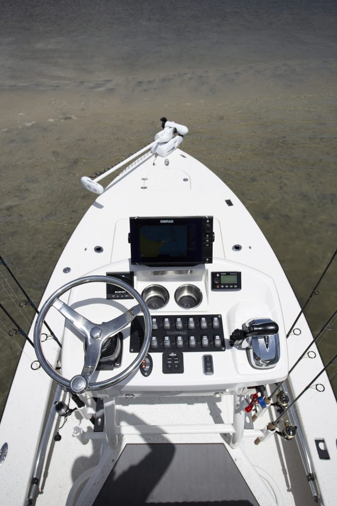 Young Gulfshore 22 Helm Review